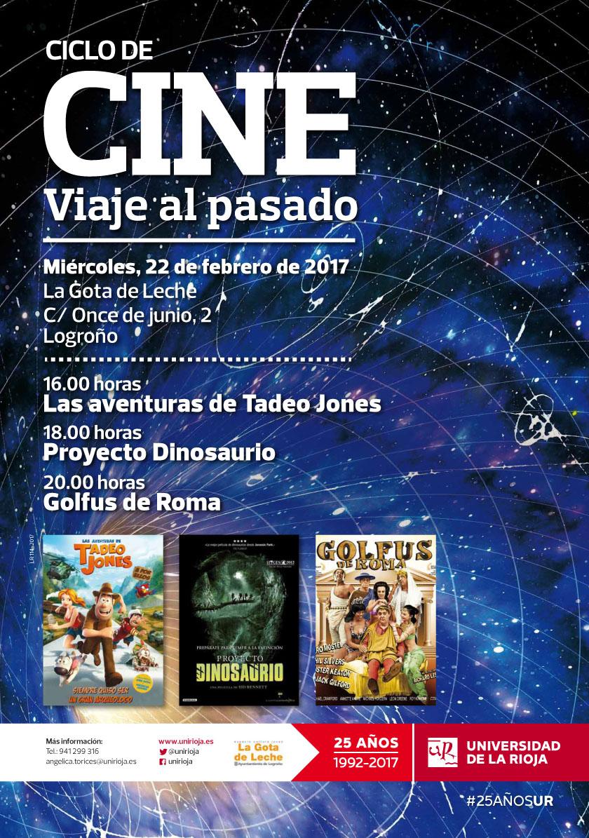 Cartel Cine Viaje al pasado web